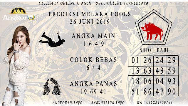 PREDIKSI MELAKA POOLS 26 JUNI 2019