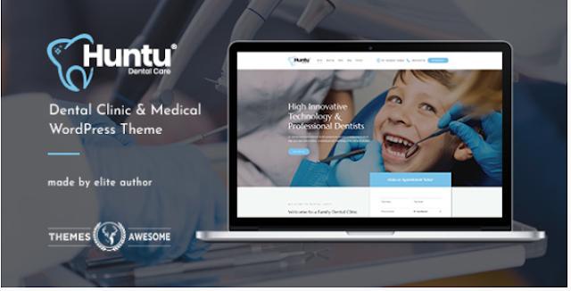 Huntu | Dental Clinic & Medical Responsive WordPress Theme