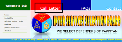 issb call letter 2016, issb call letter 2016 for army, issb call letter download, issb call letter online, issb call letter paf, issb call letter status, pak navy issb call letter,