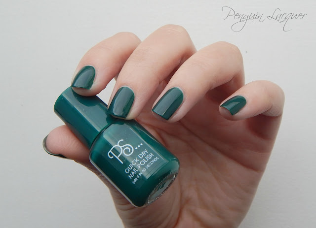ps love quick dry nail polish 17 emerald