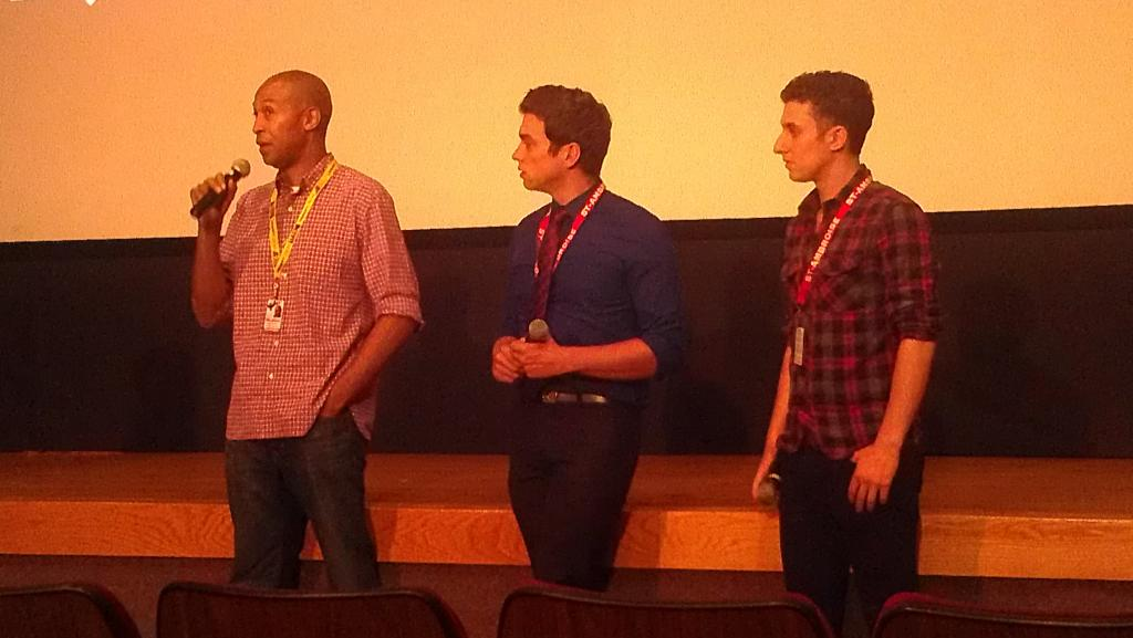 """The Dead Experiment""'s Anthony Dixon, Ryan Brownlee, and Jamie Abrams"