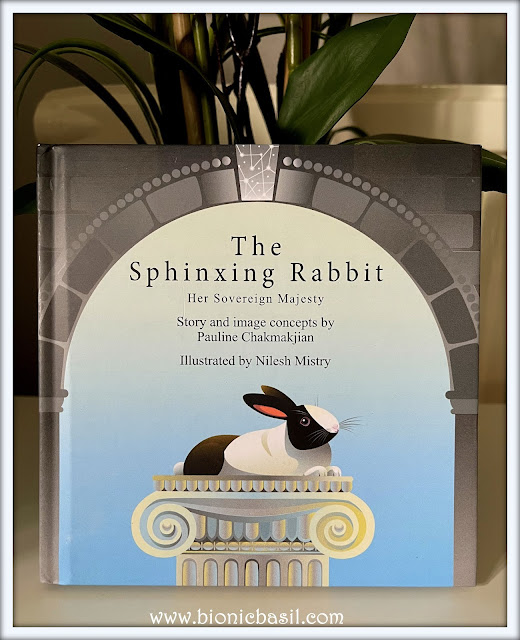 Book Reviews with Amber #162  ©BionicBasil® The Sphinxing Rabbit - Amber's Purrsonal Copy