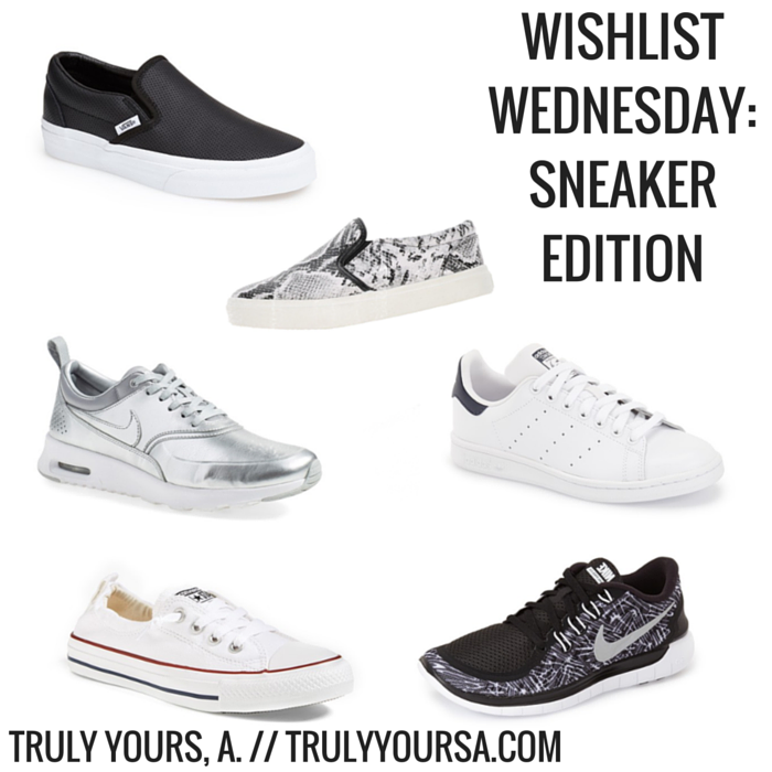 hot product 50% price many styles TRULY YOURS, A.: Wishlist Wednesday: Sneaker Edition