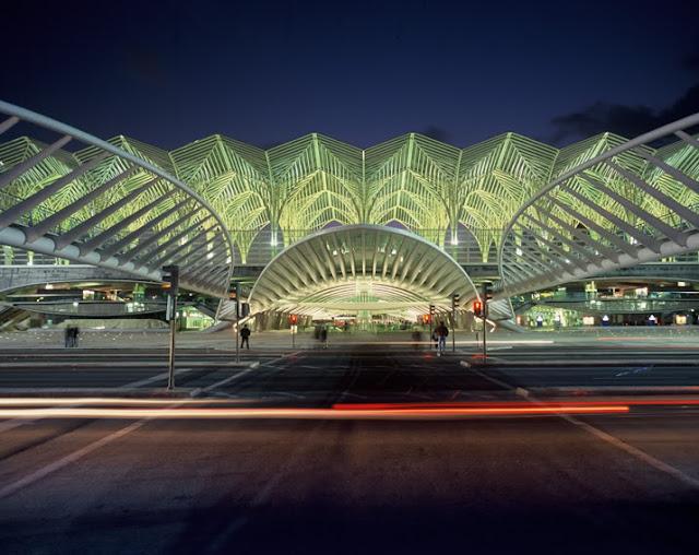 Estação do Oriente em Lisboa