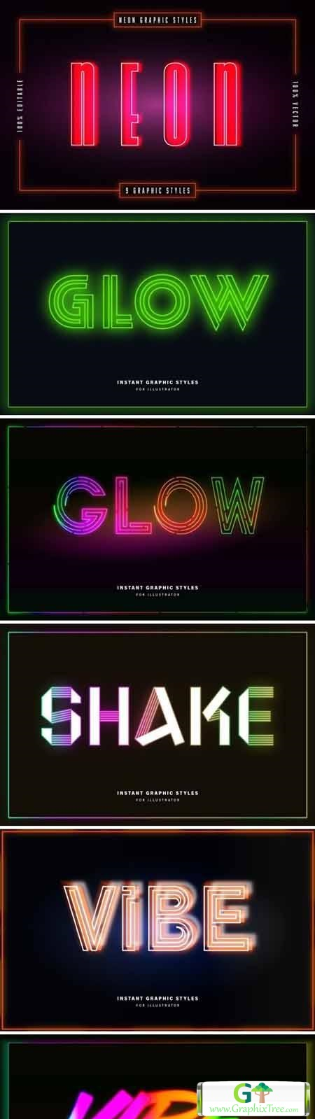 Neon Graphic Styles
