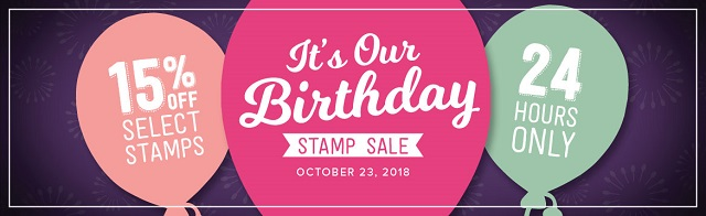 Stamp Sets, Sale, Stampin' UP!, Birthday