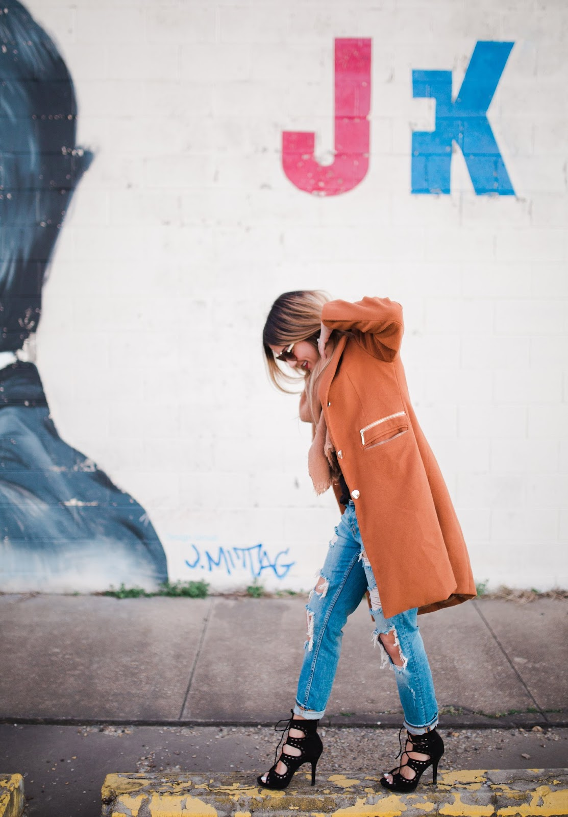 Dark Camel Coat - Fashion Blogger My Cup of Chic