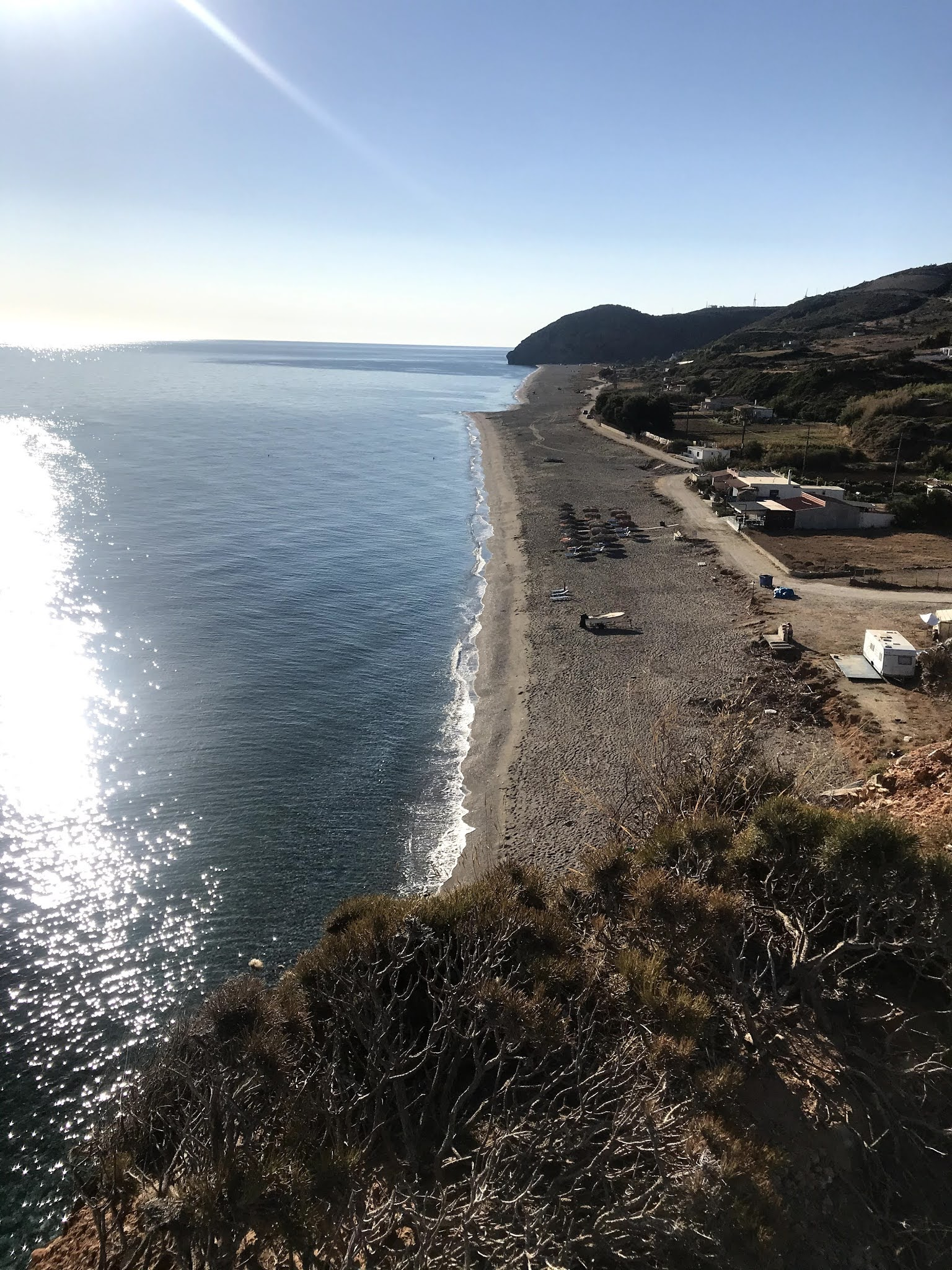Παραλία Κεφάλα Άγιος Μερκούριος Μουρτερής, Οκτωνιά Εύβοιας