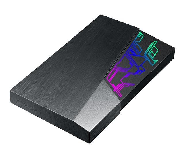ASUS anuncia disco rígido externo FX HDD