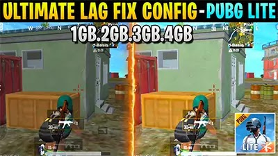 PUBG Mobile Lite New Update - Lag Fix Config File Download - Lag Problem Fix