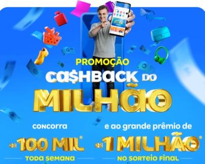 Cashback do Milhão Magalu Promoção