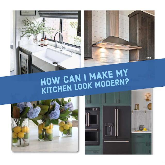 Kitchen modern make over