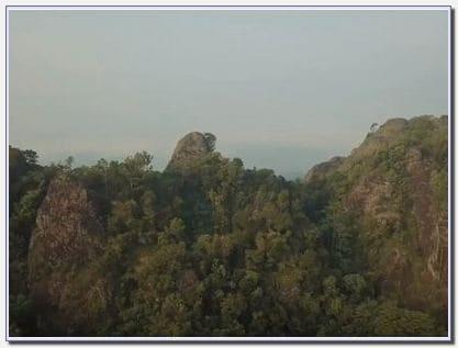 Akses menuju Lokasi Gunung Api Purba
