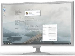 برنامج, خلفية, سطح, المكتب, لتشغيل, مقاطع, الفيديو, أو, عرض, الصور, وتوفير, معلومات, النظام, AwesomeWallpaper