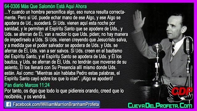 El Misterio del poder salvador - William Branham en Español