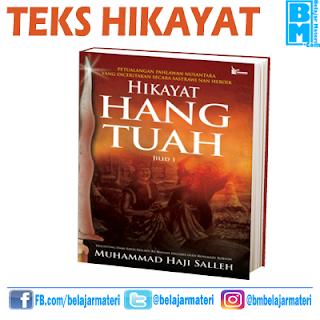 Pengertian dan Contoh Teks Hikayat (Karya sastra Melayu Klasik)
