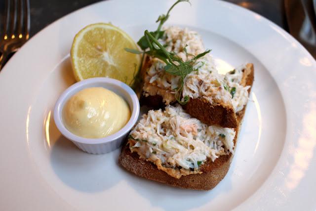 Dinner at Kettners Brasserie, Soho, London - restaurant blogger
