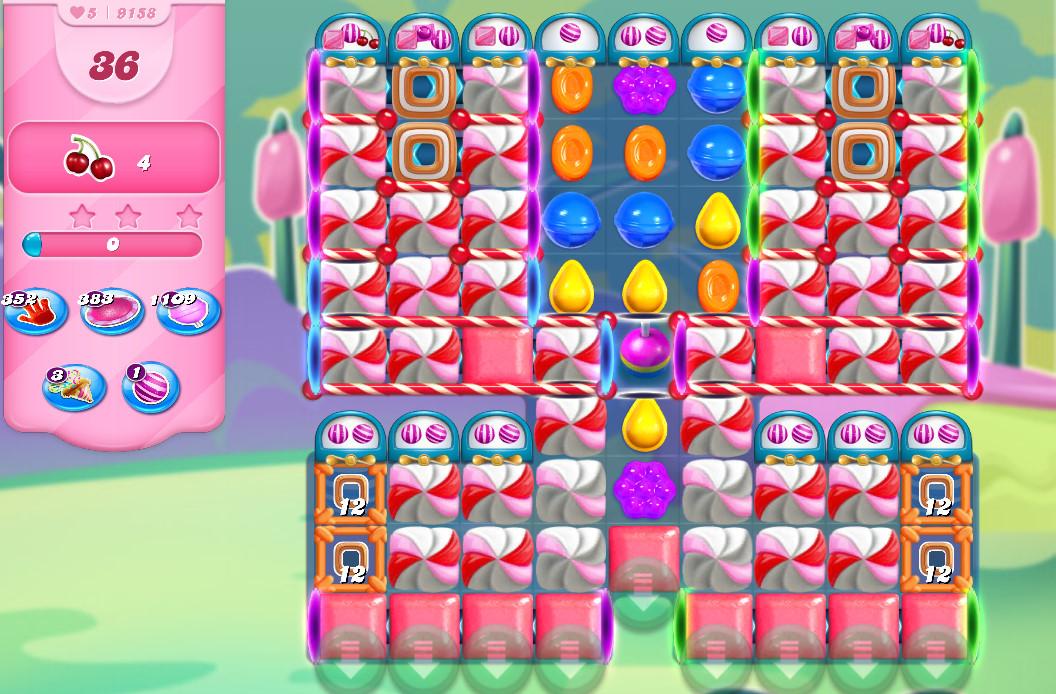 Candy Crush Saga level 9158