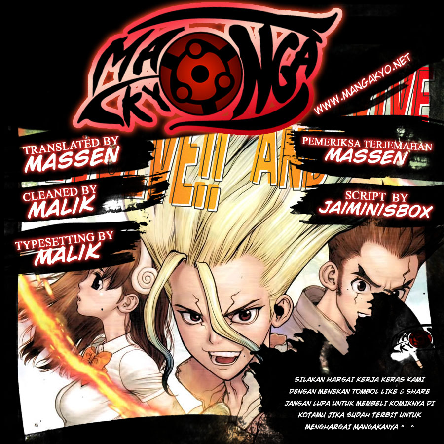 Dr Stone Chapter 33-1