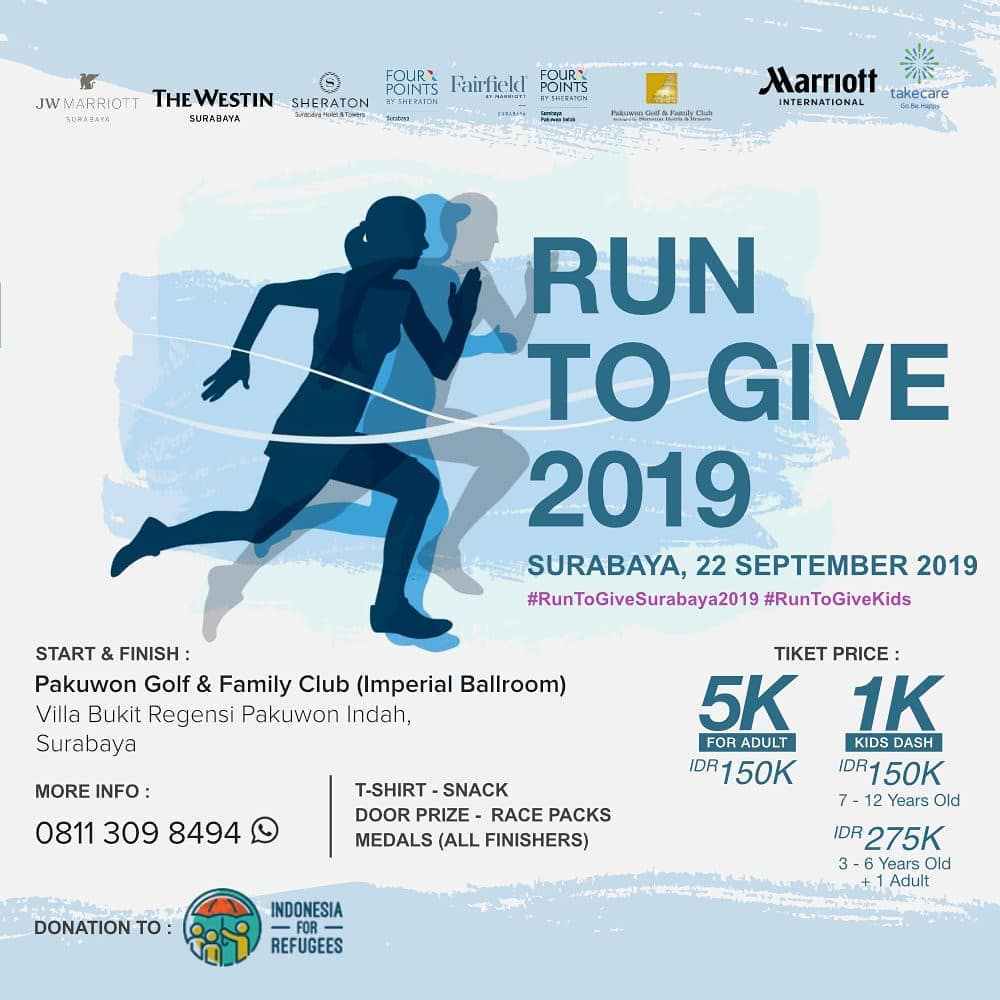 Run To Give - Surabaya • 2019