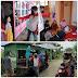 Serius Antisipasi Covid 19, Pemdes Desa Pancuran Kembali Semprotkan Disinfektan Hingga Pengecekan Suhu  Warga