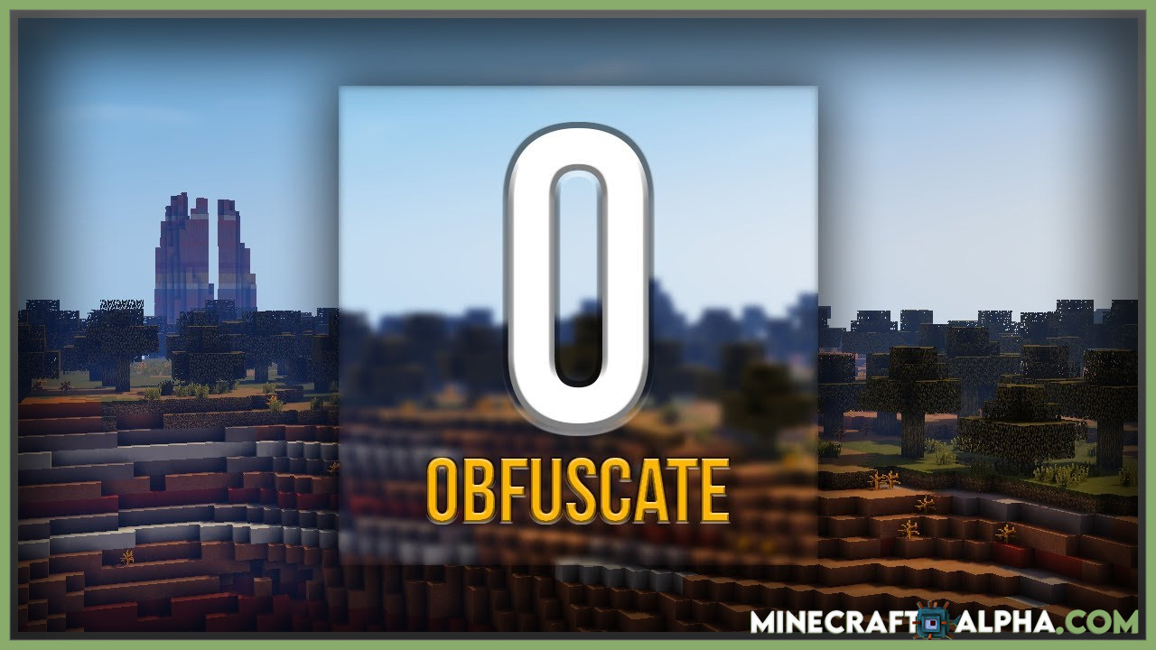 Minecraft Obfuscate Mod 1.17.1 (Library for Mr_Crayfish's Mods)