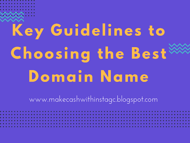 What to consider when choosing a Domain Name