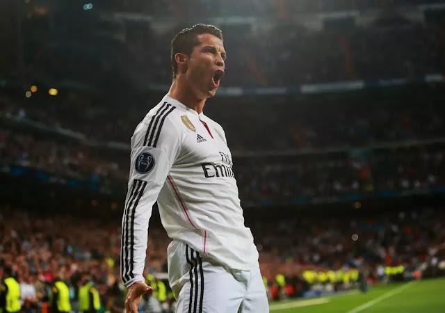 1. Cristiano Ronaldo (Atlit Sepakbola)