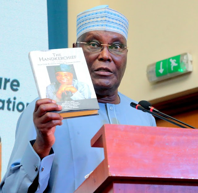 Former Vice President, Atiku Abubakar, Chairs The Book Launch On High Chief Raymond Dokpesi.
