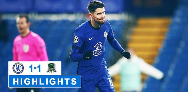Chelsea vs FC Krasnodar Highlights