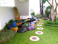 Jasa pembuatan taman dan kolam ikan solo surakarta - harga pembuatan taman per m2