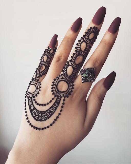 arabic mehndi designs for marriage