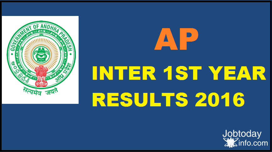 AP Inter 1st Year Results 2016 results.cgg.gov.in