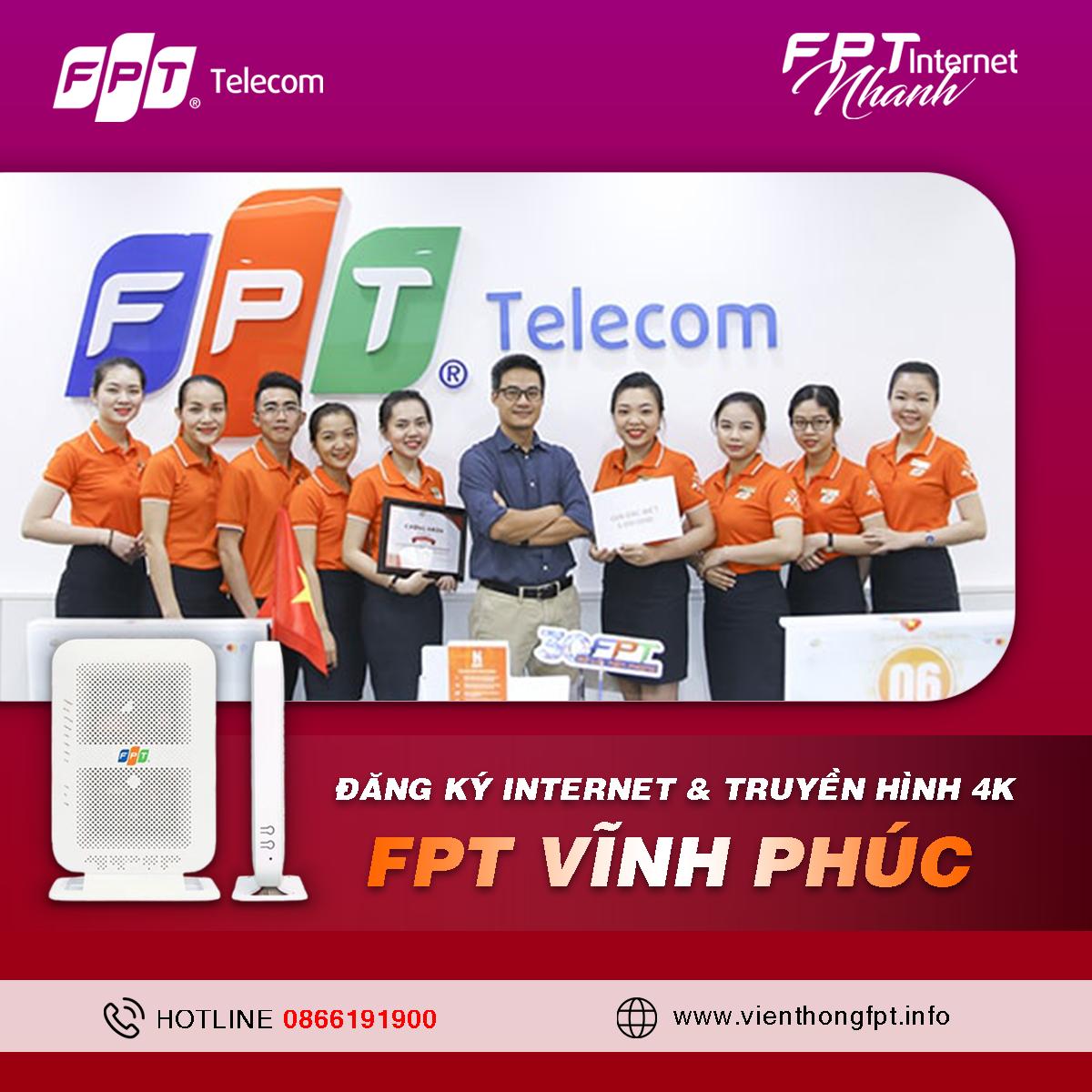 Tổng đài Đăng ký Internet FPT Vĩnh Phúc