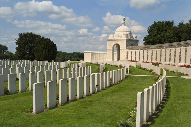 The Tyne Cot War Cemetery