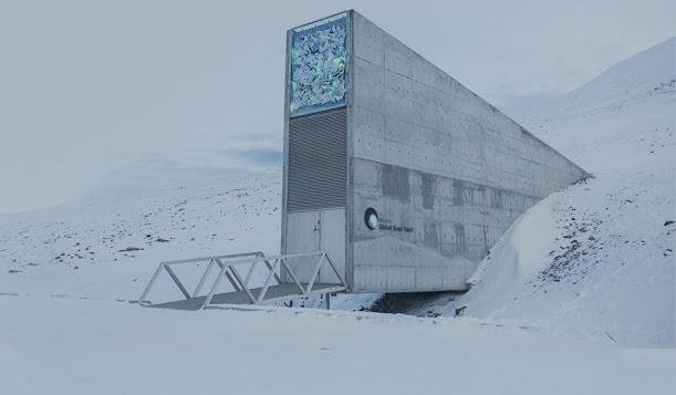 Bóveda Global de Semillas, durante la filmación de documetnal