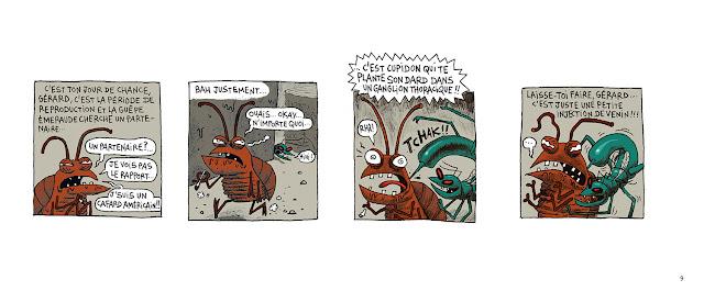 page de Axolot Hors-Série, Le bestiaire Extraordinaire par PatrickBaud et Eric Salch chez Delcourt