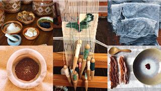 Teñido textil con pigmentos naturales