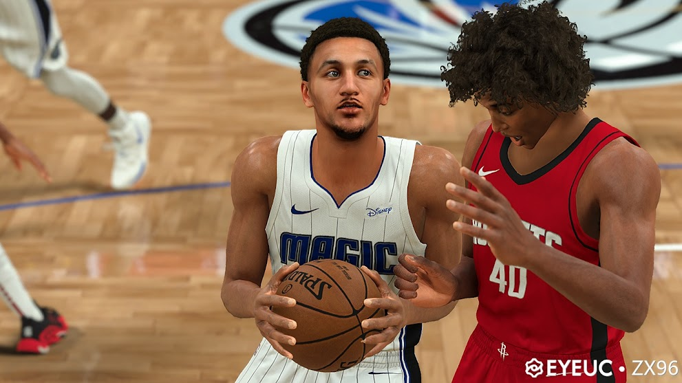 Jalen Suggs Cyberface and BOdy Model V2 BY ZX96 [FOR 2K21]