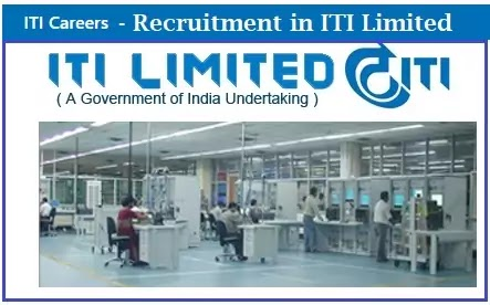 ITI Limited Naukri Vacancy Recruitment