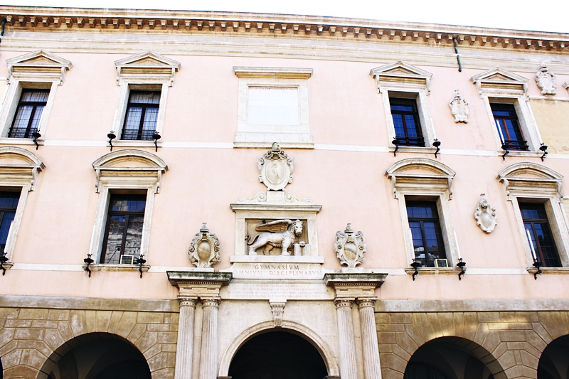 Padova's most beautiful buildings