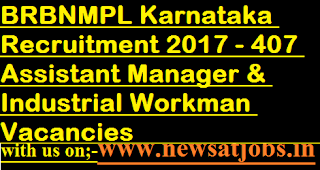 BRBNMPL-Karnataka-job-407-Assistant-Manager-Vacancies
