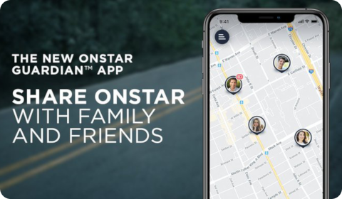 Share OnStar with family and friends