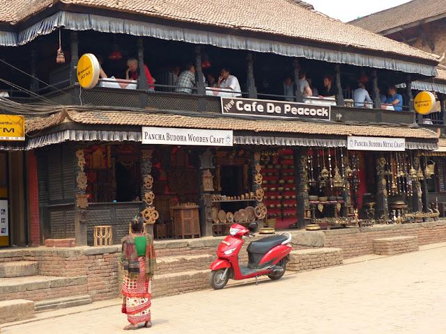 Cafe in Bhaktapur