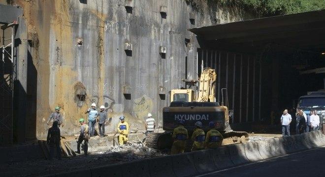 Túnel Acústico Rafael Mascarenhas, no Rio, é totalmente liberado