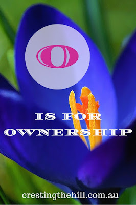 The A-Z of Positive Personality Traits - O is for Ownership