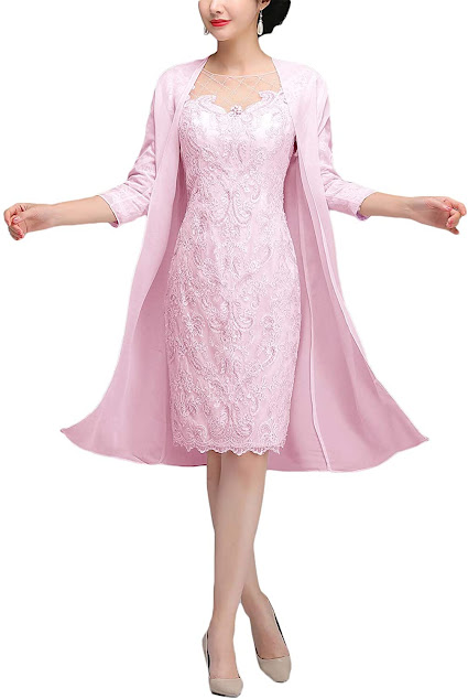 Cute Pink Mother of The Bride Dresses