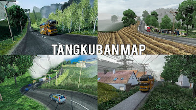 Map Tangkuban Perahu ETS2 V1.30 - V1.38