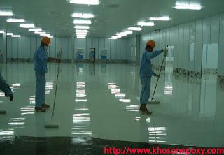dịch vụ thi công sơn sàn epoxy