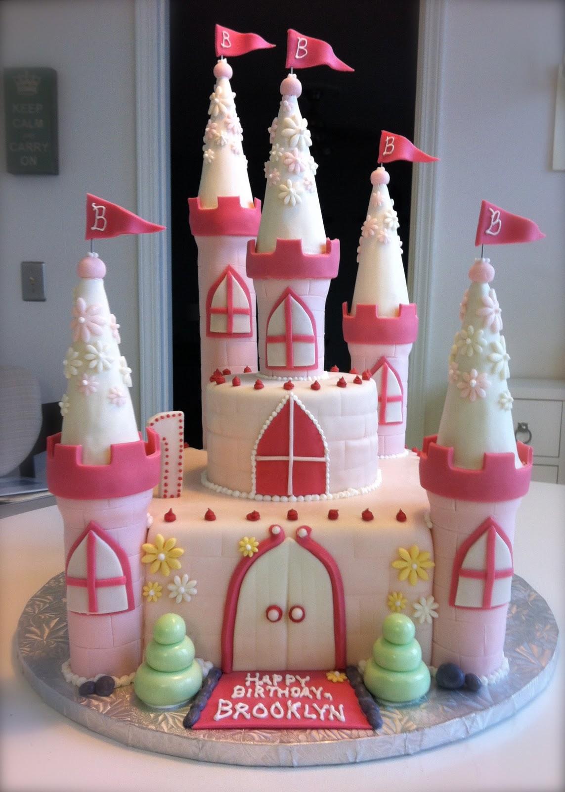 Megmade Cakes Brooklyn S Princess Castle Cake